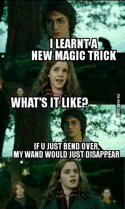 Dirty Harry Potter Memes 14