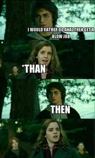 Dirty Harry Potter Memes 39