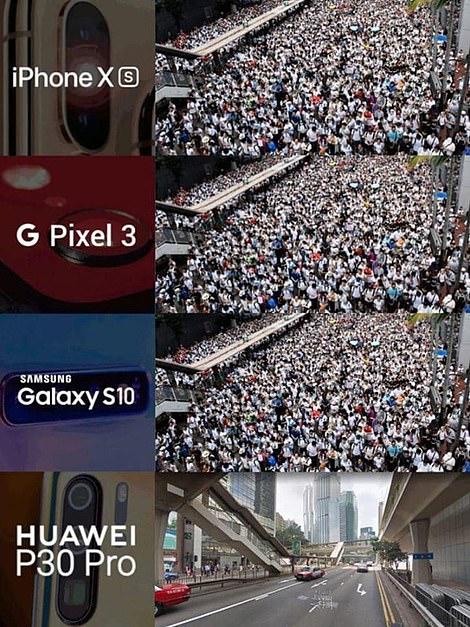 Hong Kong meme tied to Huawei