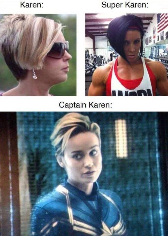 Karen Meme - Captain Karen