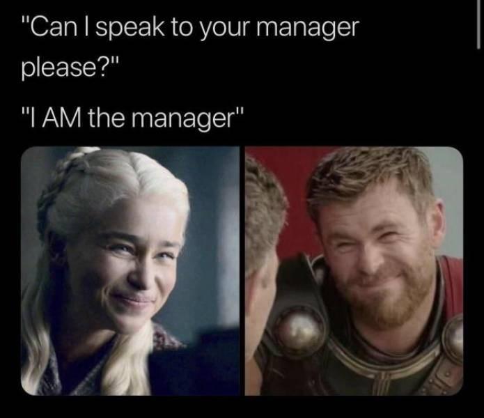 Karen Meme - I am the manager