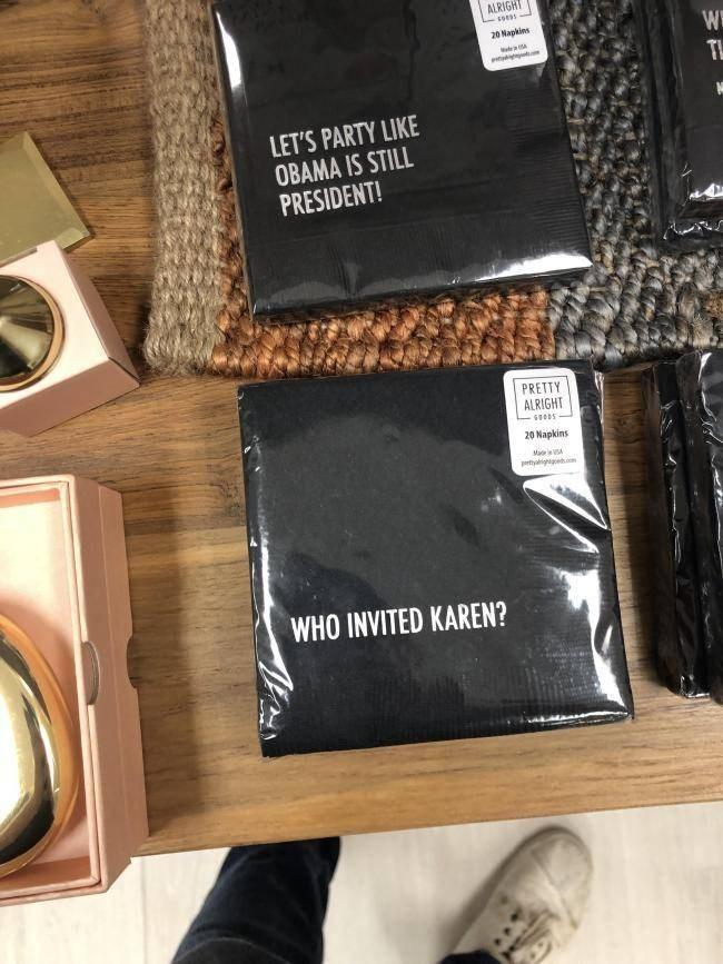 Karen Meme - Who invited