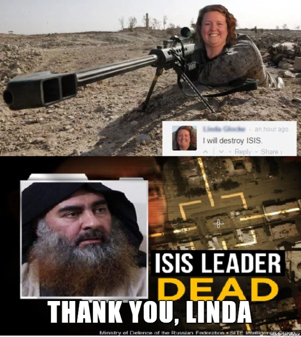 al-Baghdadi death by Karen
