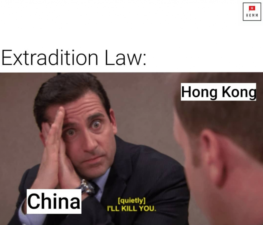 Hong Kong meme the Office