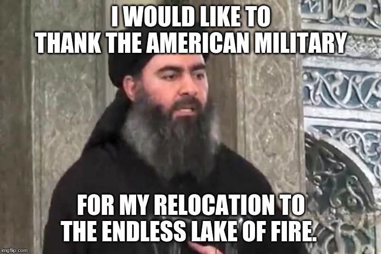 al-Baghdadi death meme