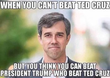 Beto and Cruz meme